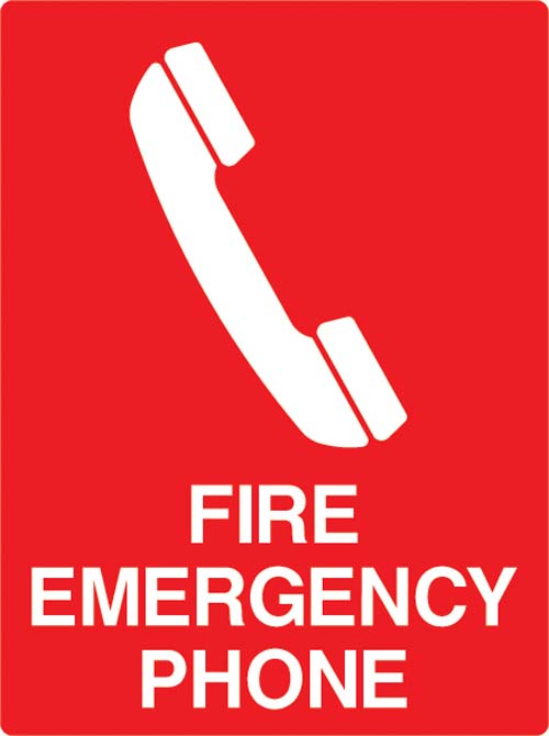 Taylor Safety Equipment Fire Emergency Telephone